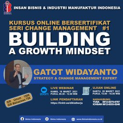 Change Management Seri-1: Building a Growth Mindset